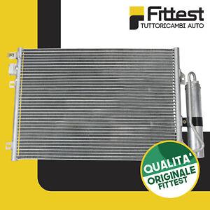 Condensatore Radiatore Aria Condizionata Renault Clio 2 3 Kangoo Express 50,5x38