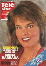 Télé Star N°786 - Eleanor - Santa Barbara - Sherilyn Wolter - C. Dechavanne