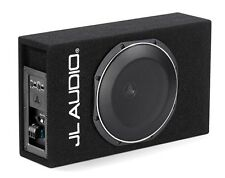 JL Audio ACS110LG-TW1 Powered Shallow Subwoofer Sealed 10TW1 PowerWedge+ Sub Box