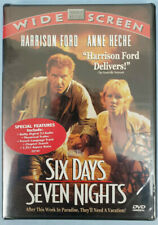 Six Days, Seven Nights (NEW SEALED DVD, 1998 WS) Harrison Ford, Anne Heche