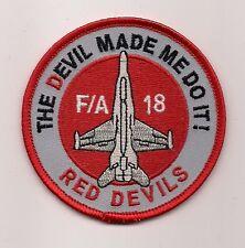 USMC VMFA-232 RED DEVILS HORNET patch F/A-18 HORNET FIGHTER ATTACK SQN