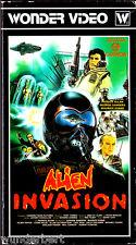 "VHS - "" Alien INVASION ( Thin Air ) "" (1969) - George Sanders"