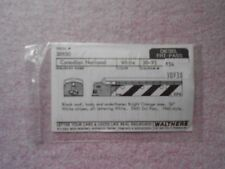 WALTHERS PASSENGER DIESEL ENGINE DECAL HO GAUGE CANADIAN NATIONAL NEW IN PACKAGE