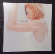 """1995 MADONNA Something To Remember 12.25x12.25"""" Record Store PROMO Poster NM (A)"""