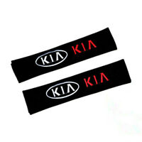 2PCS Car Seat Safety Belt Cover Shoulder Pads Cushion Protector Fabric for KIA