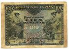 BILLETE DE 100 PESETAS DE 1906 (BC) ROTURAS (SERIE A)