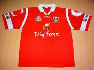 * CORCAIGH CORK GAA MATCH WORN O'NEILLS GAELIC SHIRT ALL IRELAND Footbal Hurling