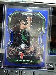 2020-21 prizm basketball #119 Jayson Tatum Blue wave Tmall Prizm