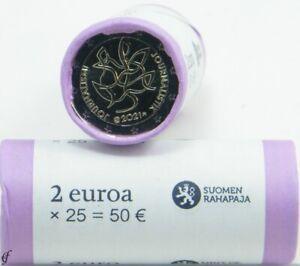 Rolle 2 Euro Gedenkmünzen Finnland 2021 Journalismus und Kommunikation