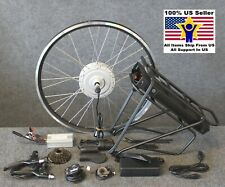 Electric Bike Conversion Kits - Geared Hub with High Capacity Batteries