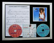 WHITNEY HOUSTON I Dance With Somebody QUALITY FRAMED CD DISPLAY+FAST GLOBAL SHIP