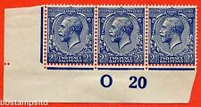 SG. 373 variety N21 (15). 2½d Indigo Blue ( toned paper ). A UNMOUNTED MINT.