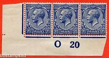SG. 373 varietà N21 (15). 2 1/2 D Indigo Blue (modulazione di carta). un Unmounted MINT.