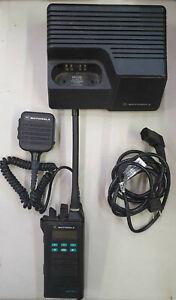 MOTOROLA ASTRO SABER II VHF 134-174 MHz P25 AES-256 OTAR ENCRYPTION w/ANTENNA