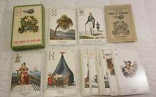 VINTAGE THE BOOK OF DESTINY TAROT CARDS (33) B.P. GRIMAUD CARTOMANCY FRANCE