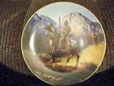 Hamilton Collection Collectors Plate Indian Design Top Gun Mystic Warriors