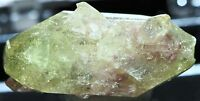 MANGANOAN VESUVIANITE DOUBLY-TERMINATED CRYSTAL FROM FAMOUS JEFFREY MINE!CANADA