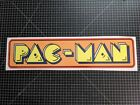 """Pacman printed Vinyl decal sticker 5.75"""" tall by 24.25"""" wide"""