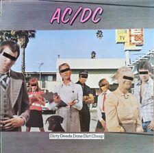 AC/DC - Dirty Deeds Done Dirt Cheap - Vinyl LP 33T