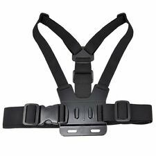 GOJI GACB15 ACTION CAMERA CHEST STRAP COMPATIBLE WITH GOPRO 2 WAY ADJUSTABLE
