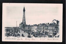 L@@K  Promenade Blackpool 1904 Postcard