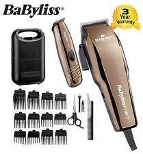 Babyliss For Men 7446CGU Carbon Titanium Hair Clipper & Trimmer With Accessories