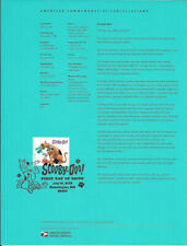 #1821 (50c)  Forever Scooby-Doo! #5299 Souvenir Page
