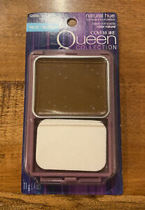 COVERGIRL QUEEN COLLECTION NATURAL HUE COMPACT FOUNDATION RICH MINK Q550 HTF