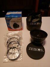 Zeikos ZE-543R Professional HD 0.43x Super Wide Fisheye Lens f/52/55/58/62/67/72