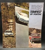 1962 Tempest By Pontiac Original Car Sales Brochure LeMans
