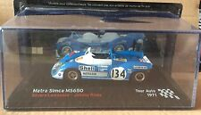 "DIE CAST "" MATRA SIMCA MS650 TOUR AUTO - 1971 "" SCALA 1/43"