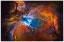 Orion Nebula Brilliant Space Galaxy Photo Poster Poster Print, 19x13