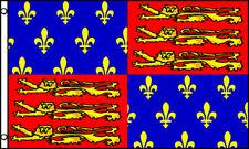 King Edward Iii Historical Flag 3x5 Polyester Fleur De Lis Dragon