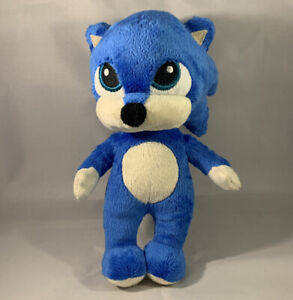 "PROTOTYPE BABY SONIC The Hedgehog Plush Toy Doll Jakks Movie 2020 Sega 8"""