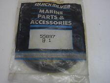 Mercury outboard Quicksilver exhaust cover seal 55897 1970 - 93
