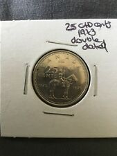 Canada – 1973 Quarter 25 Cents – RCMP Centennial – Circulated  (Best Price!)
