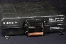 STENCIL SCHABLONE WW2 WWII GERMAN STICK GRENADE STIELHGR.24 AMMO CASE CONTAINER