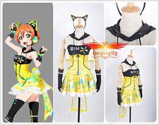 Love Live! Rin Hoshizora Video Games Awakening Cosplay Custom Costume