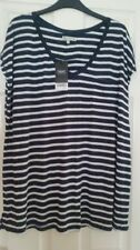 Viscose Short Sleeve Striped NEXT T-Shirts for Women