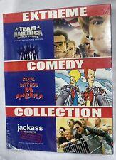 Team America World Police Jackass Beavis And Butthead Do America DVD New Sealed
