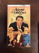 Arsenic And Old Lace (VHS, 1989) Cary Grant Jean Adair VHSshop.Com Pre Owned