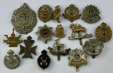 More details for mixed lot of cap badges