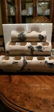 Tealight Log Candle Holder Rustic Logs Holds 12 Candles New in Box