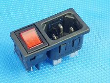 Ein Aus Taster Schalter mit  Steckdose Inkl. MwSt.