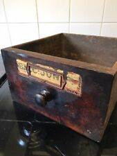Antique Wooden Chemist Storage Drawer Apothecary Cabinets Glass Filing