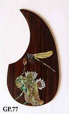 Antonio-Dragonfly Inlaid Handmade-Solid wood Pickguard Acoustic Guitar Part GP77