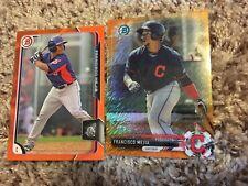 2015 Bowman Baseball Francisco Mejia First Bowman Orange Parallel /25!