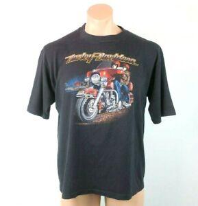 3D Emblem Harley Davidson T Shirt 1983 ROAD KING Fullerton California USA XL