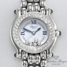 Chopard Happy Sport Lady Stahl Weissgold Diamanten 278294 Diamonds Damenuhr