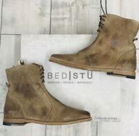 Women's Bed | STU Lady Tan Suede Dip-dye Ankle Size 8